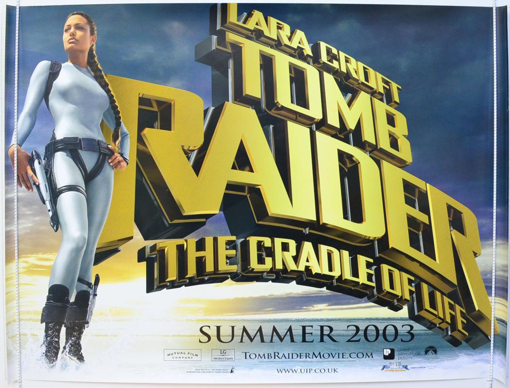 Lara Croft Tomb Raider Cradle Of Life P I Teaser Advance
