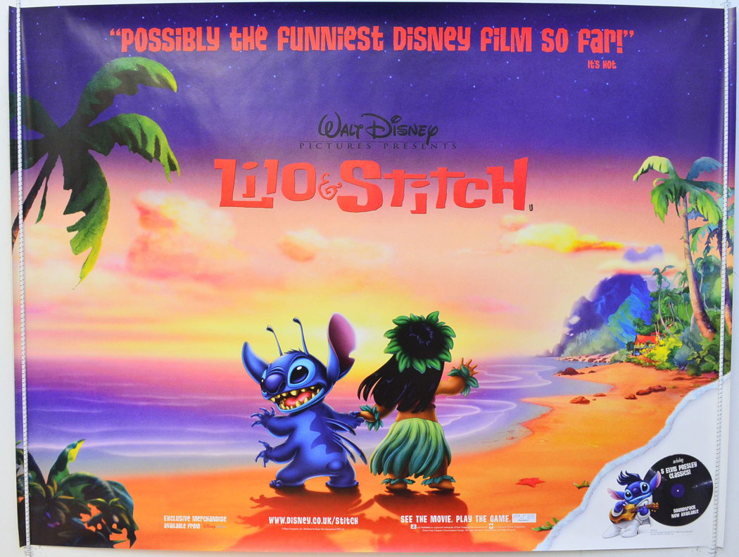 Lilo And Stitch - Original Cinema Movie Poster From pastposters ...