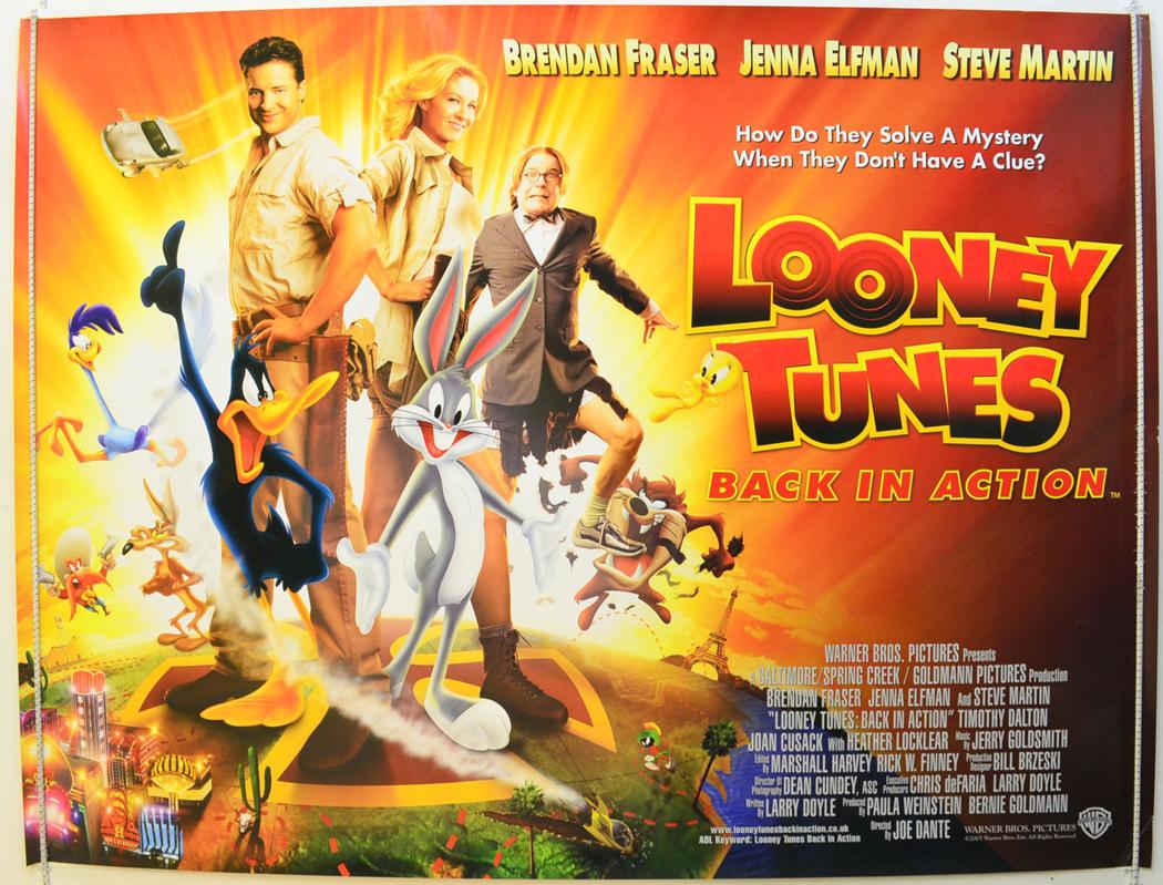 Looney Tunes Back In Action Original Cinema Movie
