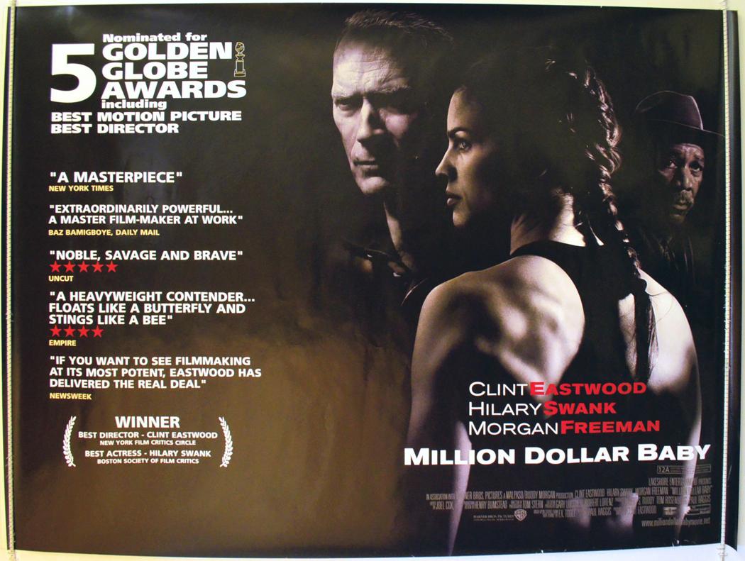 Million Dollar Baby Original Cinema Movie Poster From