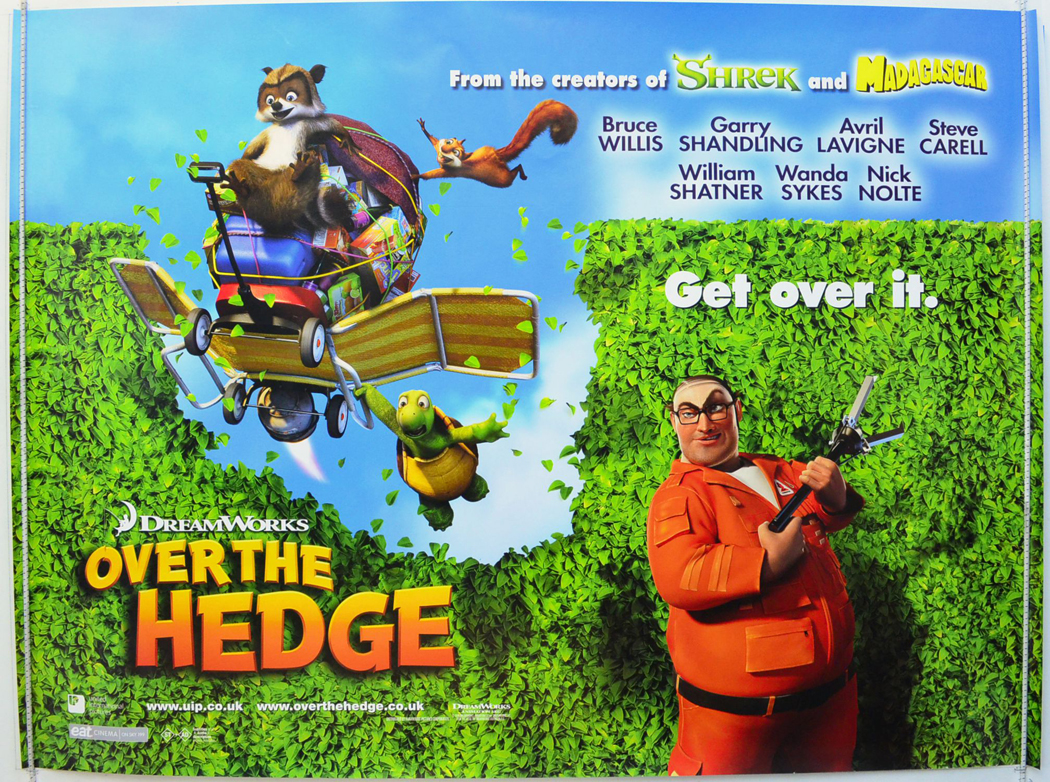Over The Hedge <p><i> (Teaser / Advance Version) </i></p ...