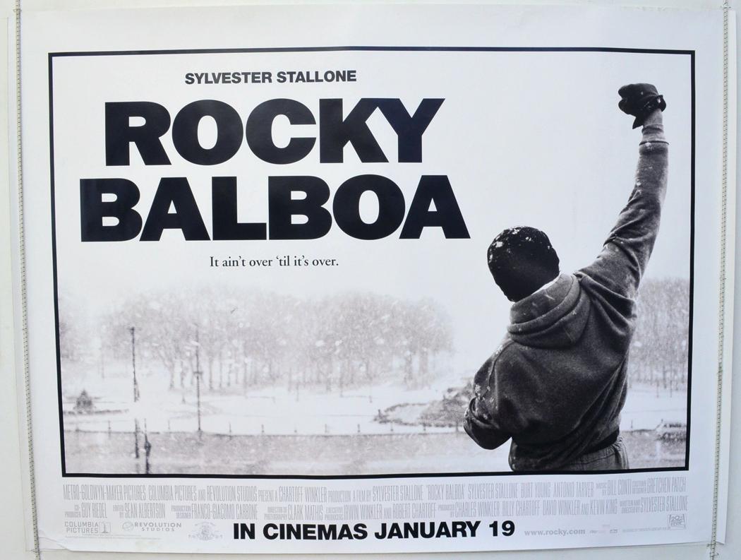 Rocky Balboa - Original Cinema Movie Poster From pastposters.com ...