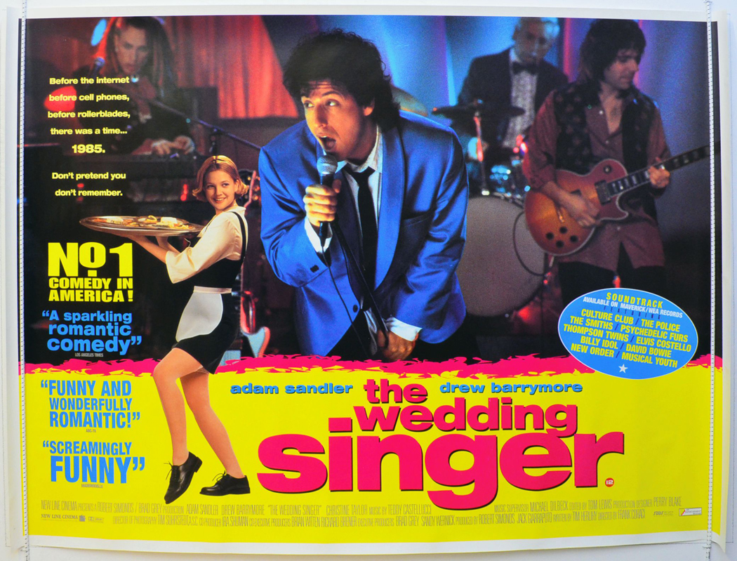 Wedding Singer (The) - Original Cinema Movie Poster From ...