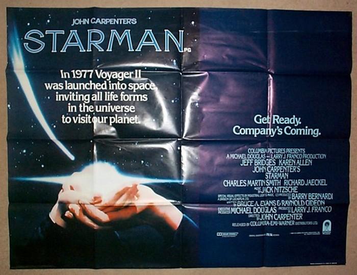 Starman - Original Cinema Movie Poster From pastposters.com ...