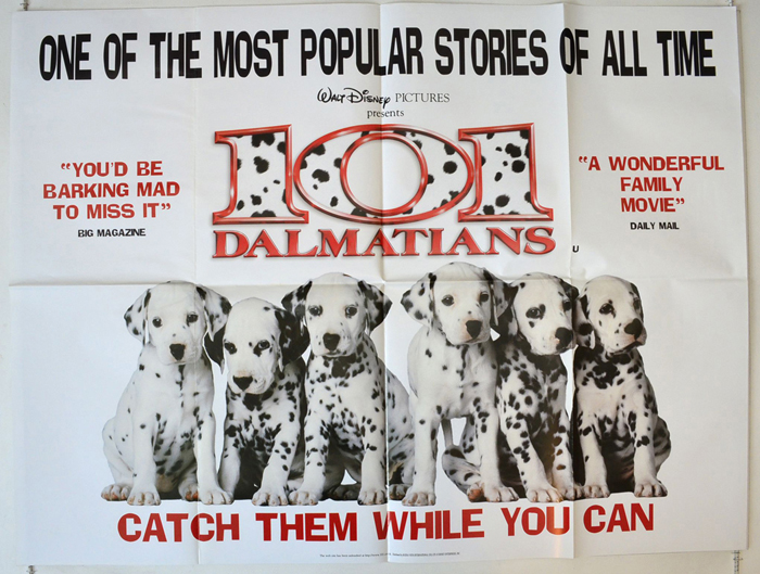 101 Dalmatians (Live Action) <p><i> (Teaser / Advance Version) </i ...