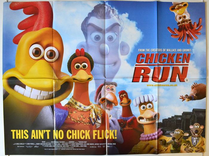 Chicken run movie poster