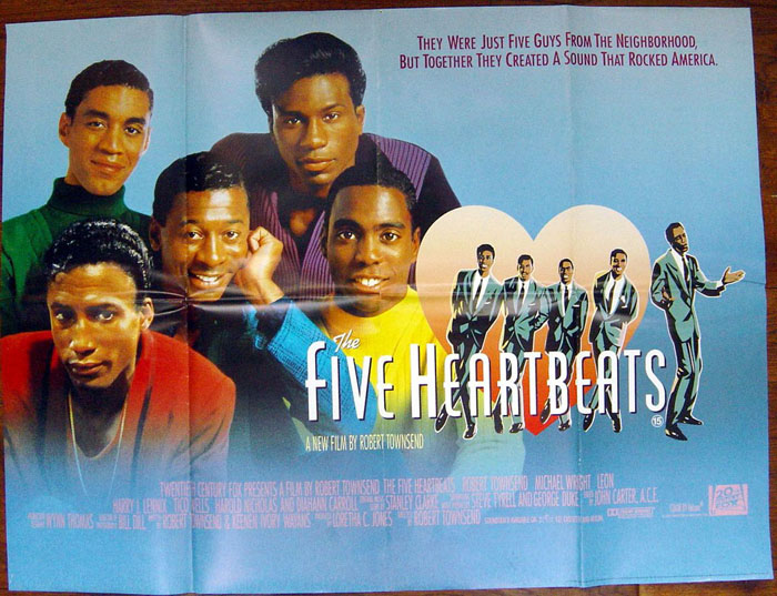 The five heartbeats in middle lyrics