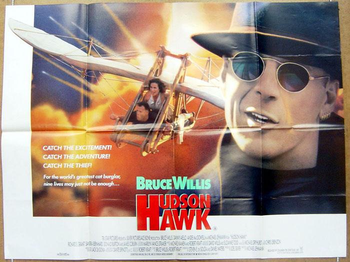 Hudson Hawk - Original Cinema Movie Poster From pastposters.com ...