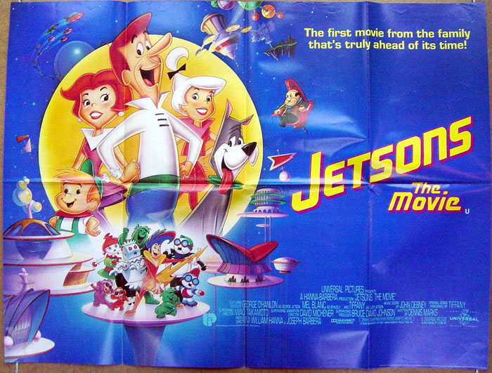 Jetsons The Movie Original Cinema Movie Poster From