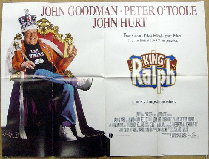 King Ralph - Original Cinema Movie Poster From pastposters.com ...