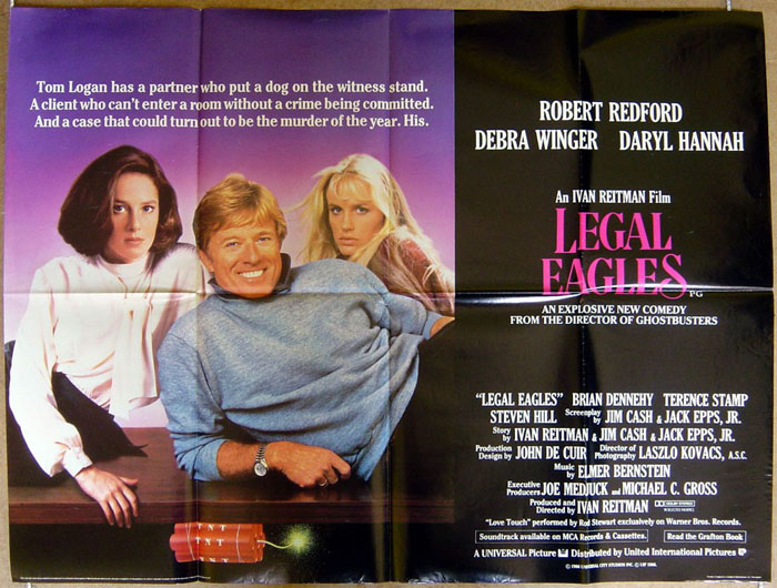 Legal Eagles - Original Cinema Movie Poster From pastposters.com ...