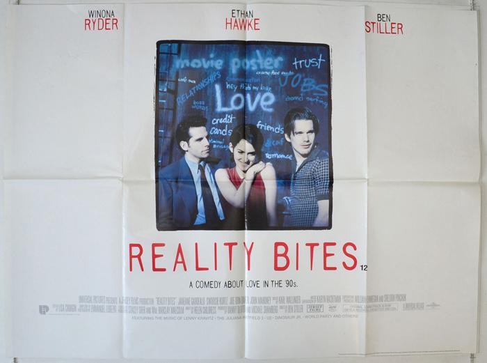Reality Bites - Original Cinema Movie Poster From pastposters.com ...