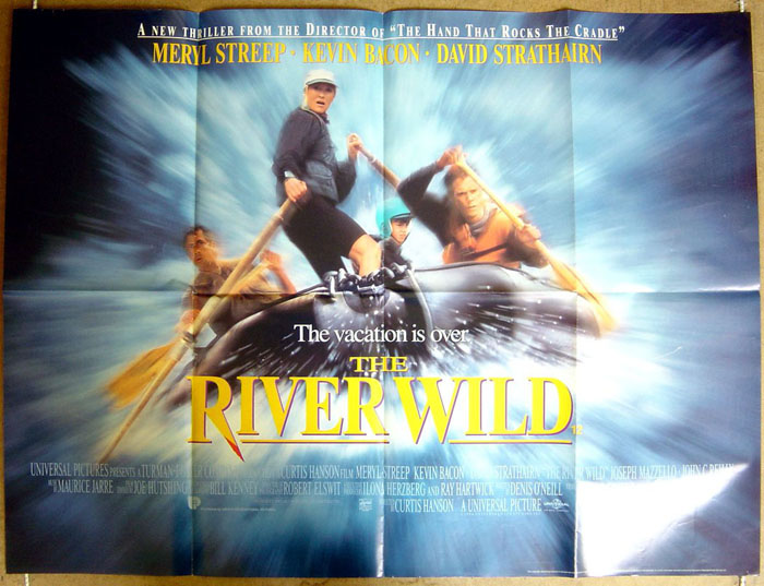 River Wild (The) - Original Cinema Movie Poster From pastposters ...