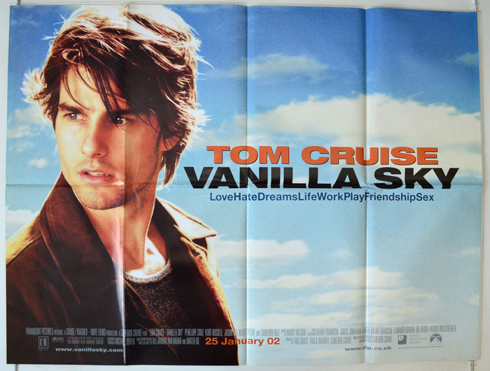Vanilla Sky - Original Cinema Movie Poster From pastposters.com ...