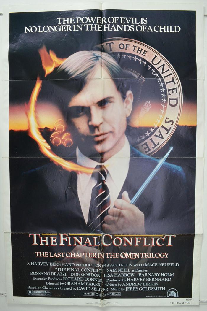 omen iii the final conflict original cinema movie