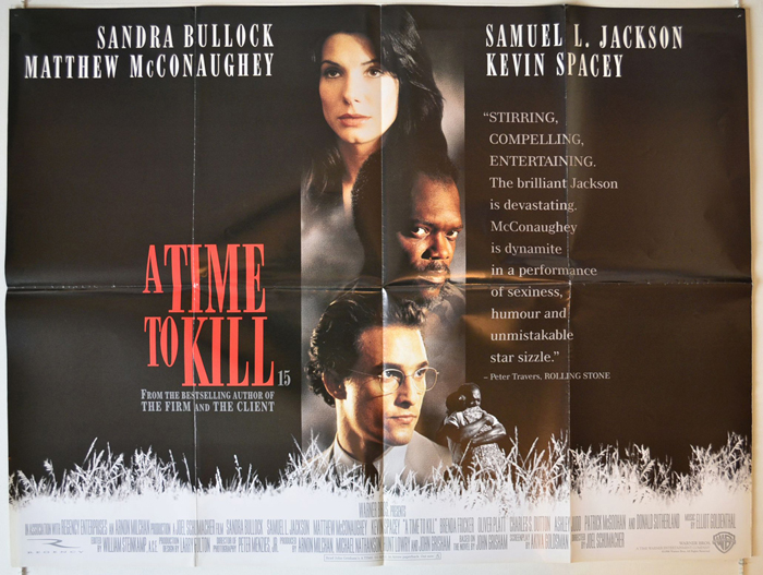 A Time To Kill - Original Cinema Movie Poster From pastposters.com ...