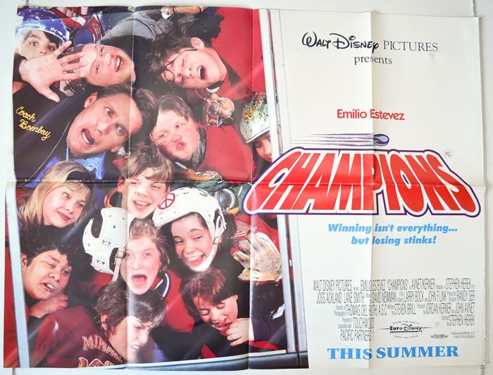 Champions <p><i> (a.k.a. The Mighty Ducks) </i></p> - Original ...