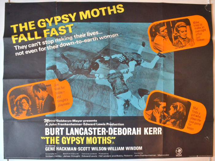 Gypsy Moths (The) - Original Cinema Movie Poster From pastposters ...