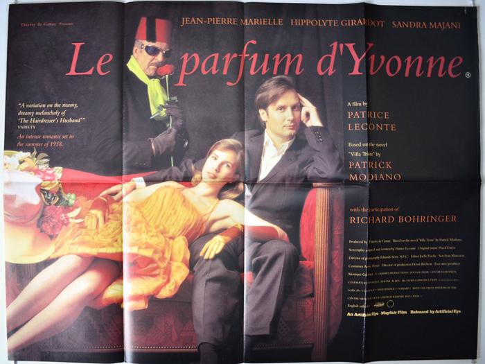 Le Parfum Dyvonne Original Cinema Movie Poster From Pastposters