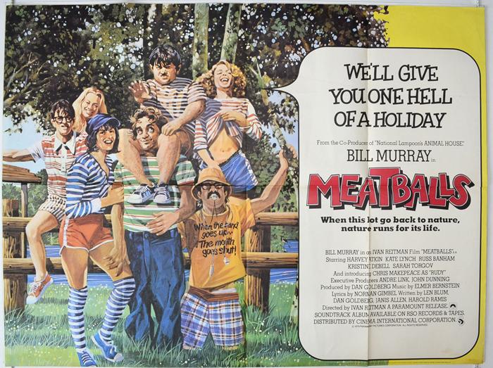 Meatballs - Original Cinema Movie Poster From pastposters.com ...