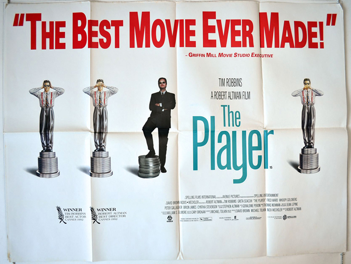 Player (The) - Original Cinema Movie Poster From pastposters.com ...