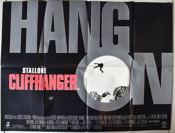 Cliffhanger - Original Cinema Movie Poster From pastposters.com ...