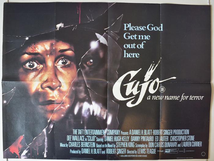 Cujo - Original Cinema Movie Poster From pastposters.com British ...