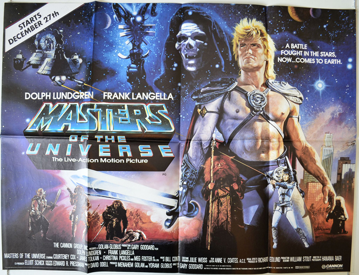 Masters Of The Universe - Original Cinema Movie Poster From pastposters.com  British Quad Posters and US 1-Sheet Posters