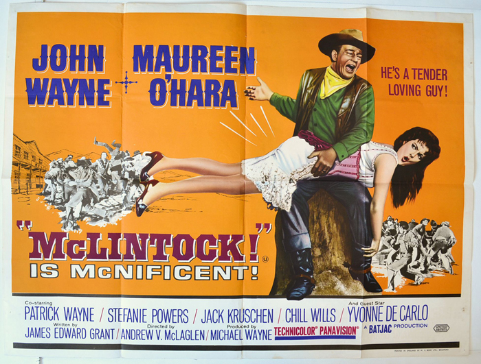 McLintock - Original Cinema Movie Poster From pastposters.com ...