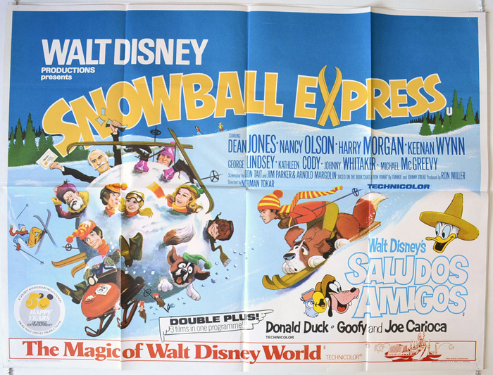 Snowball Express (The) - Original Cinema Movie Poster From ...