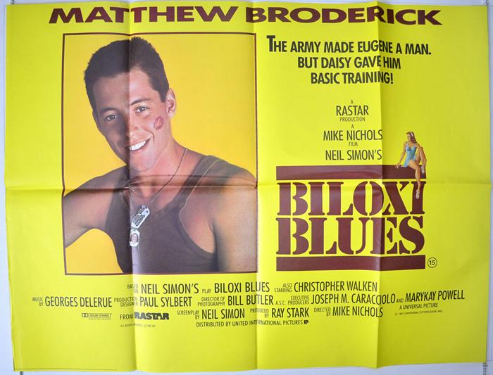 Biloxi Blues Original Cinema Movie Poster From Pastposters Com