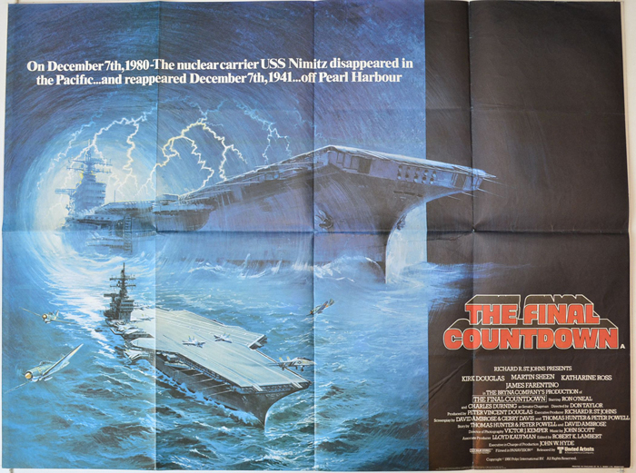 Final Countdown (The) - Original Cinema Movie Poster From ...