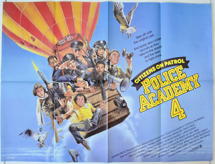 Police Academy 4 : Citizens On Patrol - Original Cinema Movie ...