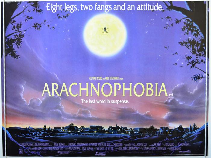 Arachnophobia - Original Cinema Movie Poster From pastposters.com ...