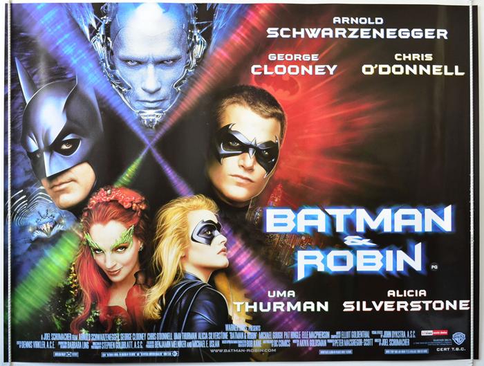 Batman And Robin - Original Cinema Movie Poster From ...