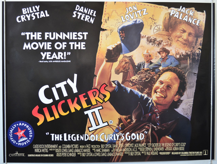 City Slickers II : The Legend Of Curly's Gold - Original Cinema ...