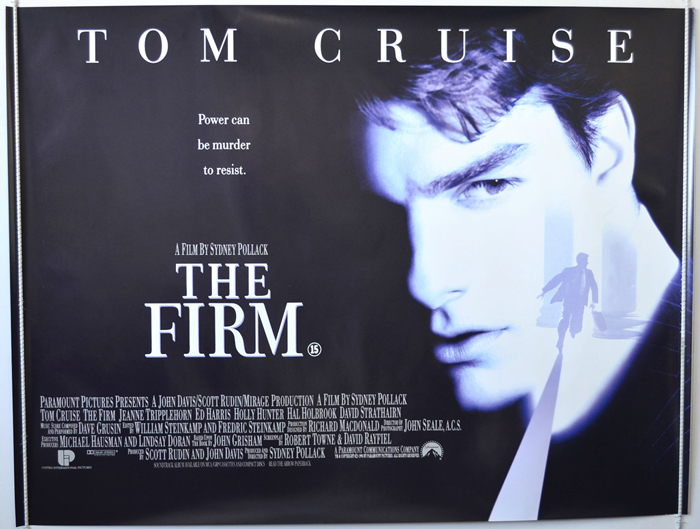 Firm (The) - Original Cinema Movie Poster From pastposters.com ...