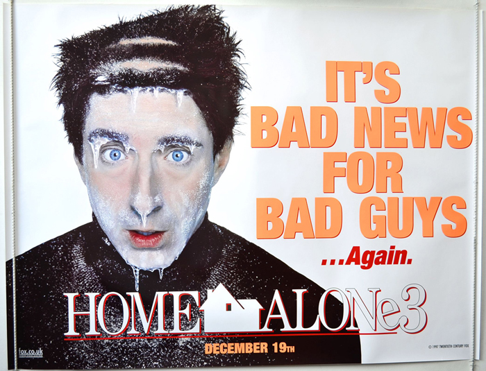 Home Alone 3 P I Teaser Advance Version 1 I P Original Cinema Movie Poster From Pastposters Com British Quad Posters And Us 1 Sheet Posters
