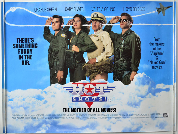 Hot Shots ! - Original Cinema Movie Poster From pastposters.com ...