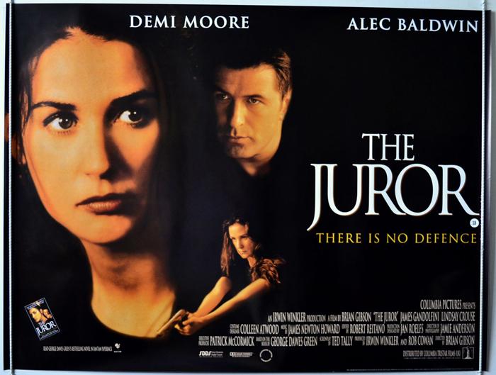 Juror (The) - Original Cinema Movie Poster From pastposters.com ...