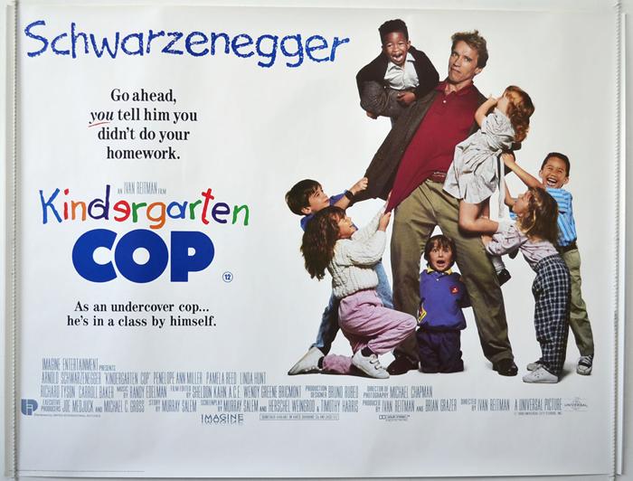 Kindergarten Cop - Original Cinema Movie Poster From pastposters ...