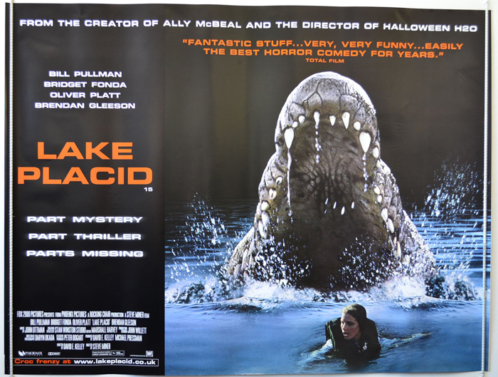 Lake Placid - Original Cinema Movie Poster From pastposters.com ...