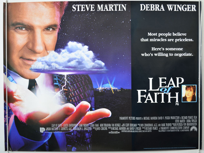 Leap Of Faith - Original Cinema Movie Poster From pastposters.com ...