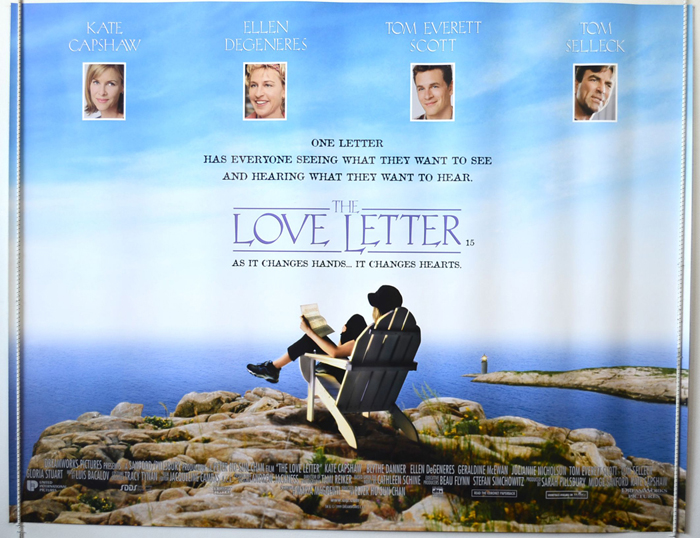Love Letter The Original Cinema Movie Poster From pastposters