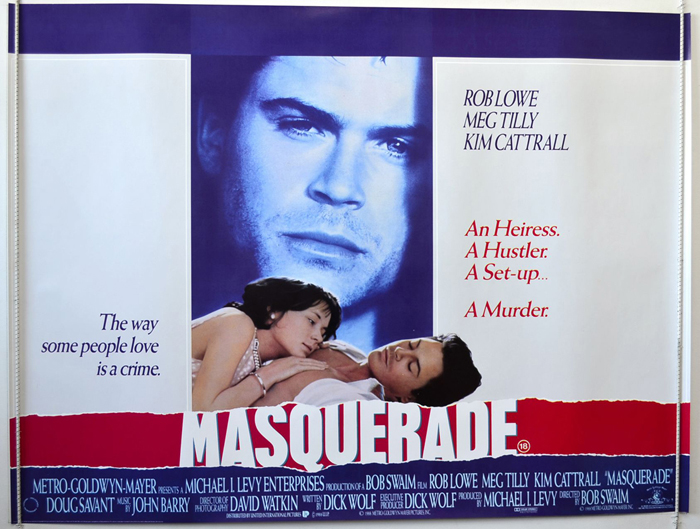 Masquerade - Original Cinema Movie Poster From pastposters.com ...