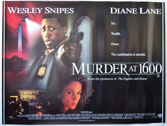 Murder At 1600 Original Cinema Movie Poster From