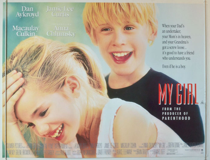 My Girl - Original Cinema Movie Poster From pastposters.com ...