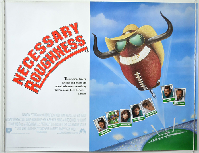 Necessary Roughness - Original Cinema Movie Poster From ...