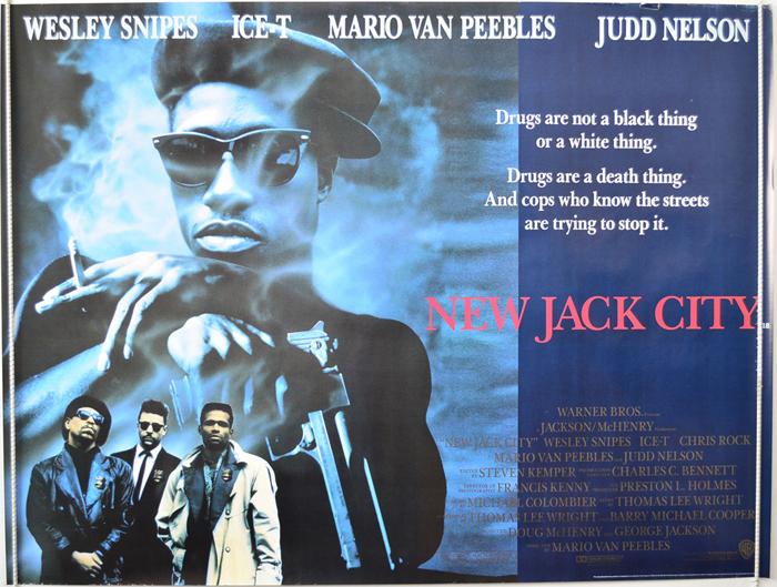 New Jack City Original Cinema Movie Poster From