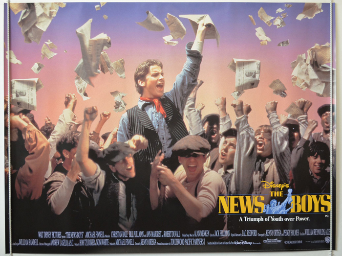 News Boys (The) <p><i> (a.k.a. Newsies) </i></p> - Original Cinema ...
